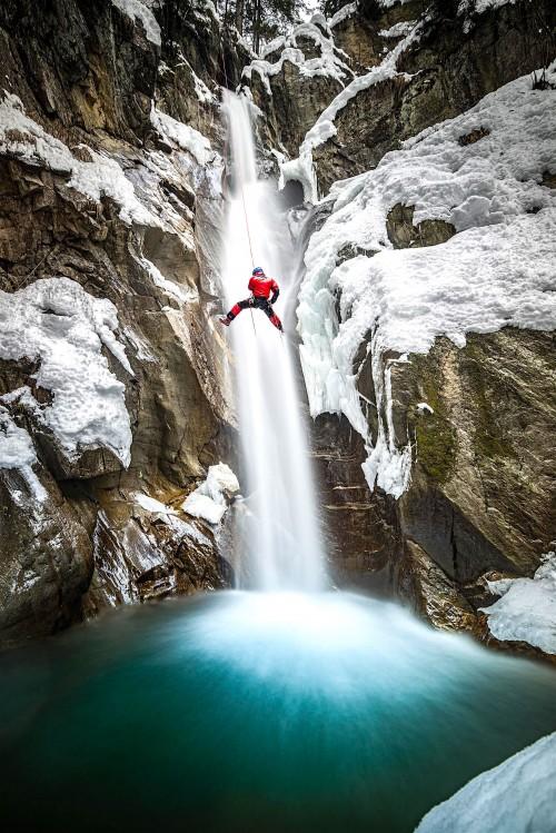 Ice Canyoning