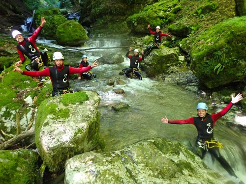 Sortie entre amis Canyoning
